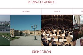 Screenshot, footage data base of the Vienna Tourist Board, Vienna Classics