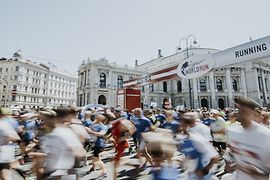 Wings for Life World Run, Burgtheater